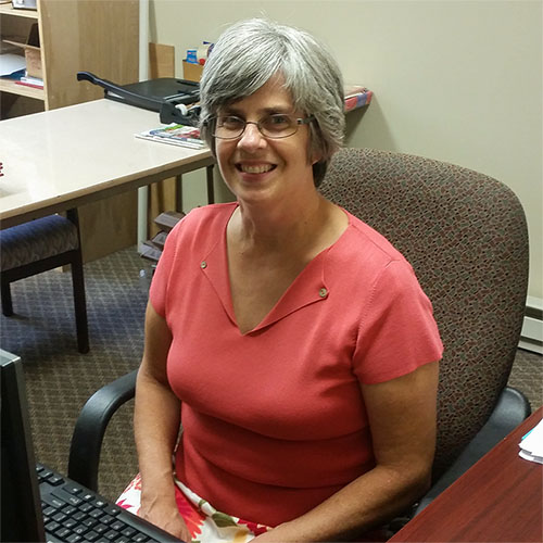 Church Secretary, Jeanette Christophel