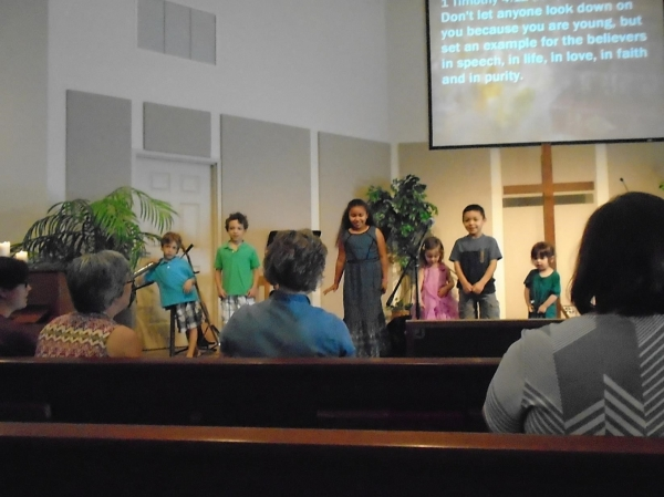 Children's Church Presentation